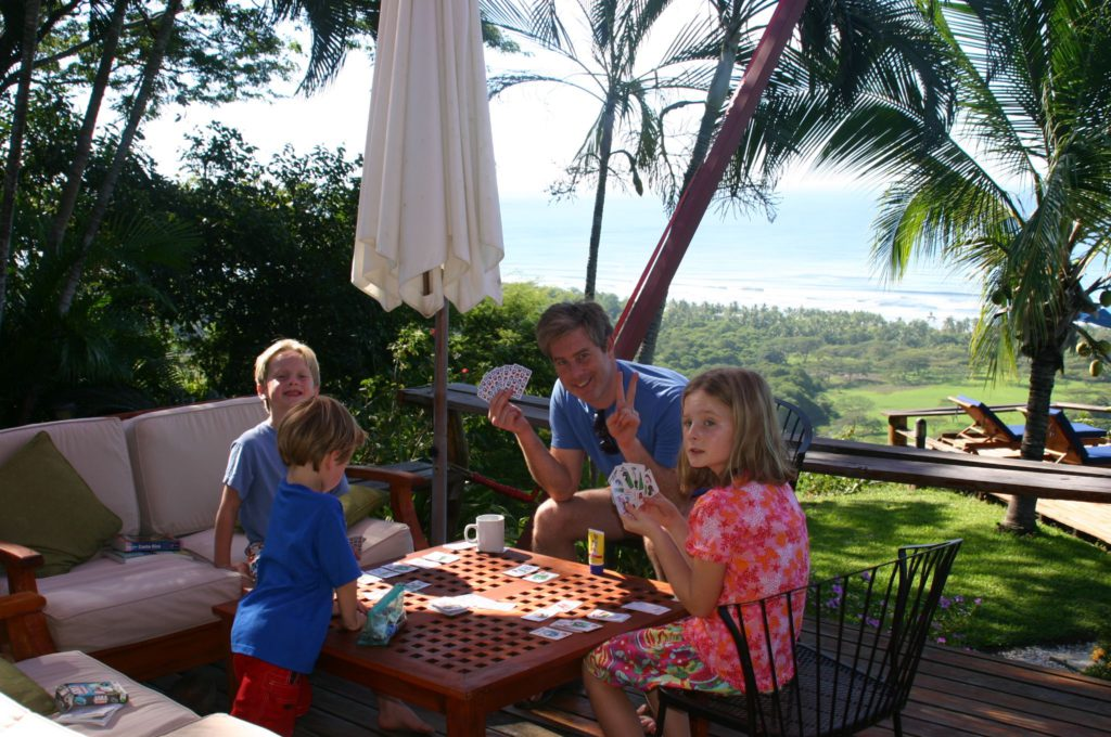 Family Vacation - Old School Style at Cristal Azul Hotel in Costa rica